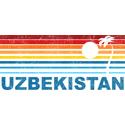 Retro Palm Tree Uzbekistan