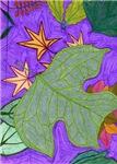 Fallen Leaves (purple)