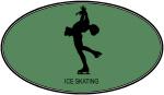 Womens Ice Skating (euro-green)