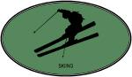 Skiing  (euro-green)