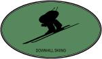 Downhill Skiing (euro-green)