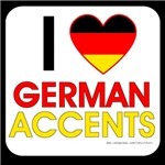 I love German Accents