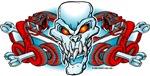 Skull Crossbones and Snakes