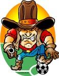 Cowboy Soccer Player