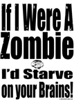 Zombie Starve On Brains