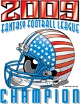2009 Fantasy Football Helmet