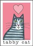 I HEART TABBY CATS