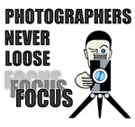 Photographers never loose focus