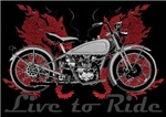 LIVE TO RIDE-RED DRAGON