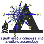 I need a compass...Camping