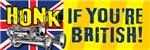 HONK IF YOU'RE BRITISH!