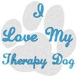 Love My Therapy Dog