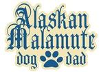 Alaskan Malamute Dad