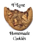 I LOVE HOMEMADE COOKIES