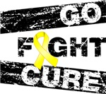 Ewings Sarcoma Go Fight Cure Shirts