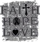 Melanoma Faith Hope Love Shirts