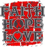 AIDS Faith Hope Love Shirts