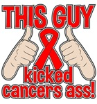 Blood Cancer This Guy Kicked Cancer Shirts