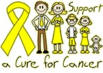 Testicular Cancer Support A Cure Shirts