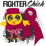 Multiple Myeloma Fighter Chick Shirts