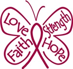 Sickle Cell Anemia Butterfly Strength Shirts