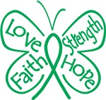 Liver Disease Butterfly Strength Shirts