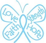 Graves Disease Butterfly Strength Shirts