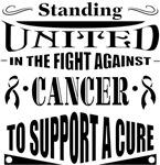 Skin Cancer Standing United Shirts