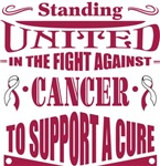 Head Neck Cancer Standing United Shirts