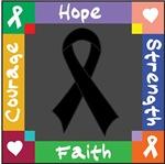 Melanoma Courage Hope Shirts