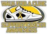 Childhood Cancer Walk For A Cure Shirts