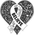 Lung Cancer Believe Shirts