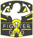 Ewings Sarcoma Fighter Diva Shirts