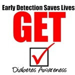Get Checked Diabetes T-Shirts
