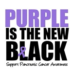 Purple is The New Black Pancreatic Cancer Shirts