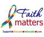 Faith Matters Autism Awareness Shirts & Gifts