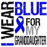 I Wear Blue Colon Cancer (Granddaughter) Shirts