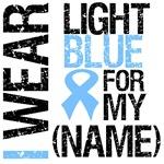 I Wear Light Blue Ribbon Shirts & Gifts