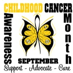 Childhood Cancer Awareness Month Shirts & Gifts