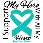 Ovarian Cancer Hero Support Tees & Gifts