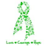 Love Courage Hope Organ Donor Shirts
