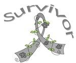 Asthma Survivor Flower Shirts & Gifts