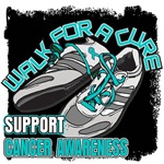 Ovarian Cancer Get Walking Shirts & Gifts
