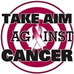 Take Aim Against Throat Cancer Shirts & Gifts