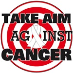 Take Aim Against Lung Cancer Shirts & Gifts
