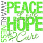 Muscular Dystrophy Peace Love Hope Shirts