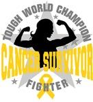 Childhood Cancer Tough Survivor Shirts