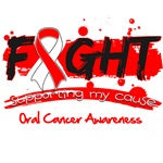 Fight Oral Cancer Cause Shirts