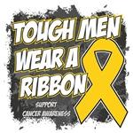 Childhood Cancer Tough Men Wear A Ribbon Shirts