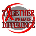 Blood Cancer Together We Make A Difference Shirts